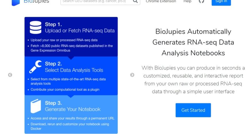 biojupies screenshot